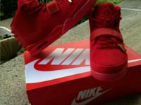 Brand new 100% authentic red October's. Never worn.