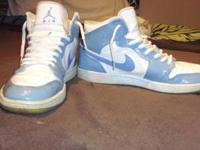 I have 2 pairs of Air jordans. Retro 1s. sz 13 in used