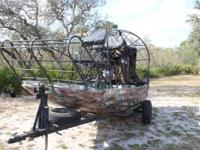 Airboat 12 Ft. $4,200 1986 12 foot Combee Hull.