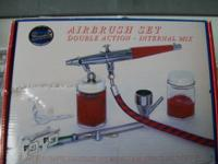 We have a airbrush set for sale works perfectly never