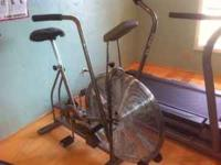 Schwinn Airdyne exercise bike. Used, in good condition.