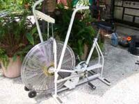 This a Schwinn AIRDYNE EXERCISE BIKE. It is the finest