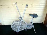 Airdyne type exercise bike... the kind that the arms go