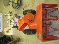 I have for sale an Airens two stage snowblower that is