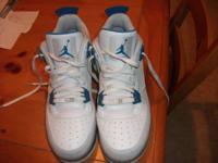 I have a pair of like new Air Force One's Air Jordan
