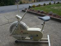 This exercise bike is in really excellent condition. It