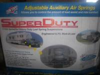 I have 2 sets of airlift super duty air springs 57000