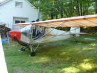 Rans S4 Coyote Not registered and no N-Number, Tail