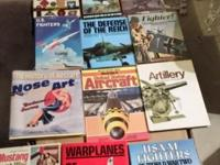 Lots of air plane history a couple of books are worth