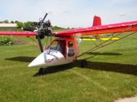 1996 Flightstar 2 , Two seater. 582 Rotax. 122 hours on