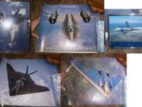 I am selling a total of 5 airplane posters. Four of