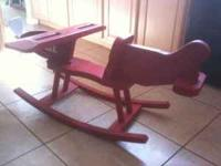 For sale airplane rocker. Nice unusual rocking ""