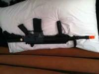 I am selling my DPMS panther m4 m16. It's full metal