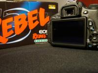 Canon T3i in outstanding condition with box and initial