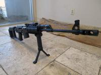 PETRONOV ARMAMENT AK47 IN 308 CALIBER SNIPER RIFLE.