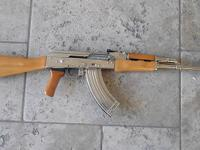 PETRONOV AK47 that has been Nickel Plated and looks