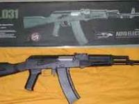 CYMA Ak74 airsoft gun, It is FULL metal, and comes with