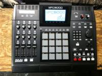Type: Drums Akai MPC 5000 drum pads/EXM-E3 CD-M25