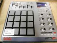 I have a Akai Mpd 24 control unit. It is very good