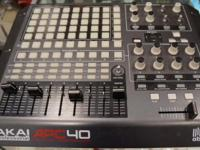 Akai professional APC40. Has some wear. See photos for