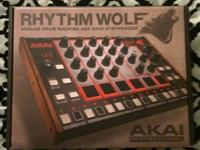 Akai Rhythm Wolf Drum Machine & Bass Synthesizer BRAND