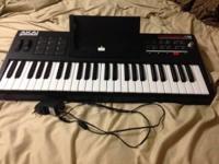 Akai Synthstation 49 Midi Keyboard Controller w/