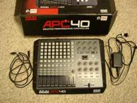 For sale is a slightly used Akai APC40 performance