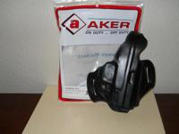 1) New in original packaging Aker firearm holster