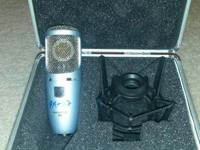 I am selling my MODIFIED AKG Perception 200 condenser
