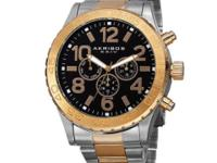 Akribos XXIV Men's Swiss Multi-Function Watch with