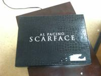 For sale is an Al Pacino Scarface box collection. This