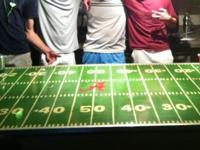 for sale is a king of a beer pong table. Large and