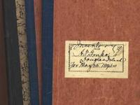 3 important store stock ledgers (1891, 1893, 1894) from