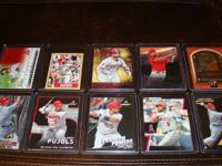 Albert Pujols (20) all inserts baseball cards lot. You