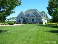 Executive acreage...gorgeous 4 BD home offers 2944 sf