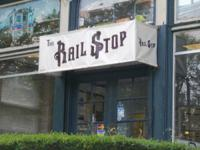 The Rail Stop Record Store. We market utilized and