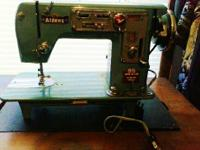 For sale a vintage turqouise 95 Super Deluxe Aldens