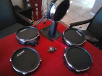 I have three single zone,1 dual and one bass drum