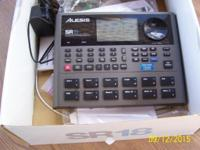 An Alesis SR 18 Drum Beat Machine for Sale at 6425 W.
