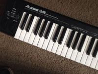 Alesis Q49 49Key USB MIDI Controller Keyboard for sale