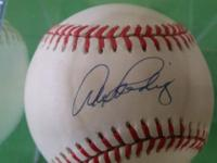 Alex Rodriguez New York Yankees BASEBALL autograph -