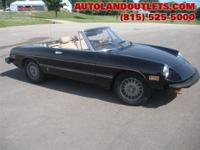 1978 ALFA ROMEO SPIDER CONVERTIBLE, 2.0L 5SP. MANUAL