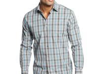 A long-sleeve plaid shirt goes a long way - keep your