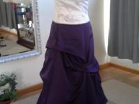 ~ alfred angelo ~ 2 piece ~ top and skirt ~ Size:10 ~