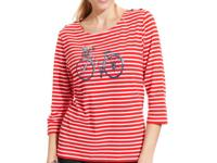 Charming casual style, from Alfred Dunner. Chic stripes