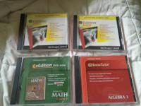 Algebra 1 Books in Cd Form for sale. 2 of the Algebra 1