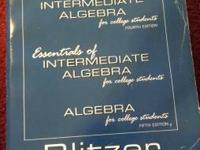 Intermediate Algebra-Student Solutions Manual.  Asking