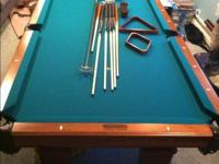For sale Pool table great condition high end. Comes