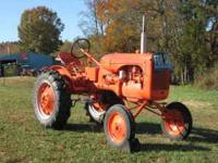I have a fully rebuilt 1947 Alice Chambers tractor for
