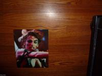 Alice Cooper concert color 8x10 set of 3. NEAR MINT
